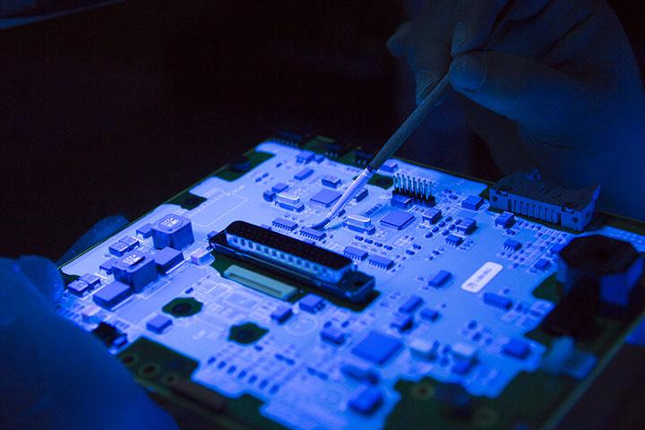 Intégration composants électroniques