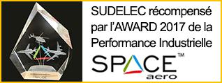 Récompense pour Sudelec !